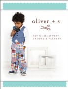 Art Museum Vest and Trousers - Oliver and S sewing pattern